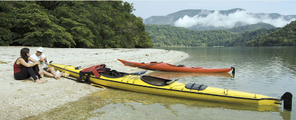 Sea Kayak at Atlantic Forest Coast