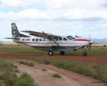 Cessna caravan at Karanambu