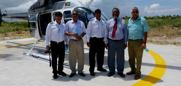 Guyana receives first civilian helicopter – available for tours