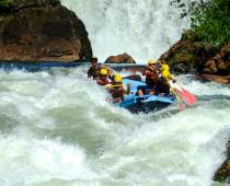 Rafting in Brazil