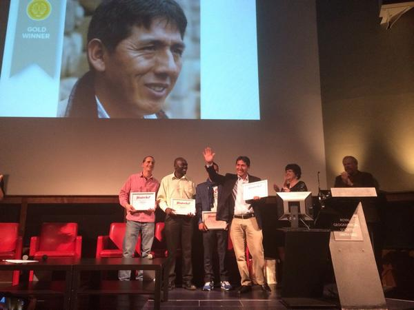 World Guide Award Winner: Efrain Valles from Peru