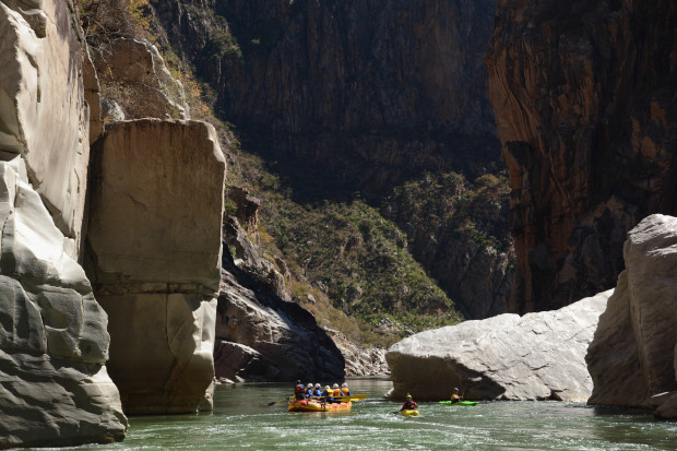 Two great rafting options in Peru