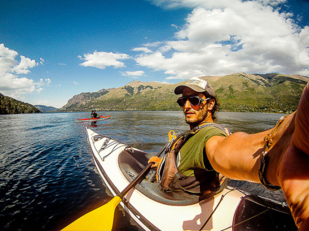 Kayaking and hiking in Bariloche