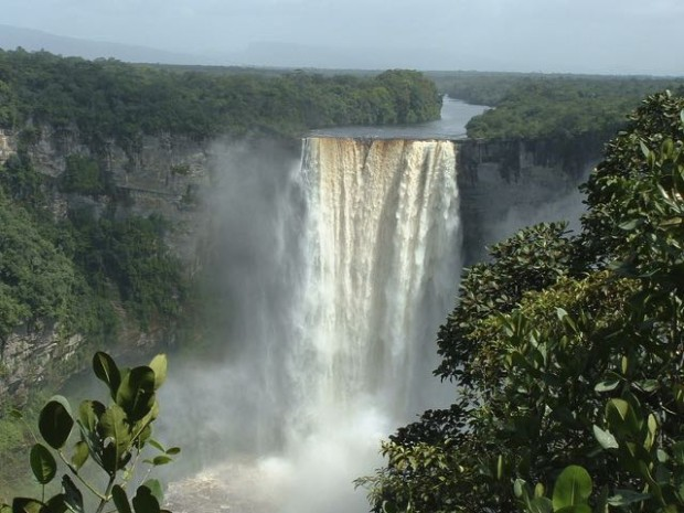 The amazing Kaieteur Falls await you in Guyana